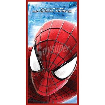 Marvel Toalla de playa infantil con cara de spiderman 1 Unidad