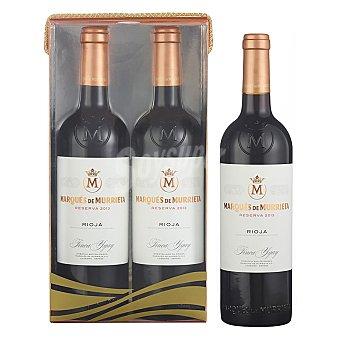 Marqués de Murrieta Estuche de vino D.O. Ca. Rioja tinto reserva Pack 2x75 cl