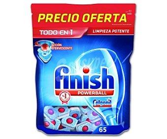 Finish Lavavajillas Concentrado 65 Pastillas