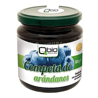 Qbio Compota arandano - Sin Gluten 320 g