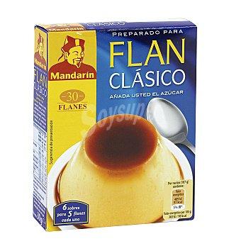 Mandarin Preparado para flan clásico Estuche 30 g
