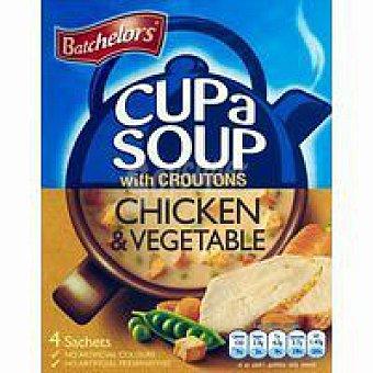 Batchelors Sopa granulada de pollo-verdura Sobre 115 g