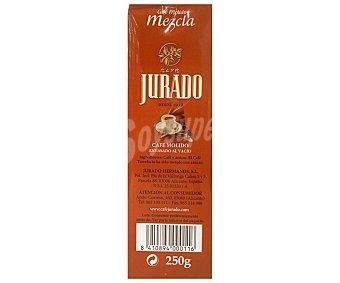 Jurado Café Molido Mezcla - 50% Natural 50% Torrefacto 250 g