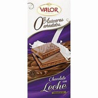 Valor Chocolate puro con leche sin azúcar Tableta 125 g