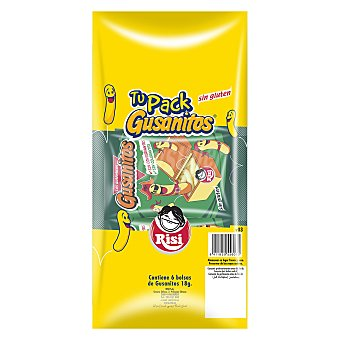 Risi Tu pack gusanitos - Sin Gluten 108 g