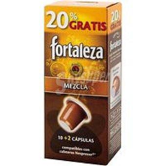 Fortaleza Cápsulas Café Mezcla Compatibles con Máquinas Nespresso +20%