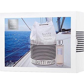 MASSIMO DUTTI Dutti Woman eau de toilette femenina vaporizador 100 ml + petate 100 ml