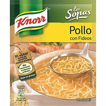 Knorr Sopas pollo/fideos Sobre 63 gr