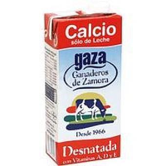 Gaza Leche Desnatada Calcio Brik 1 litro