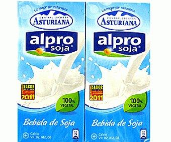 Central Lechera Asturiana Alpro bebida de soja 6x 1L