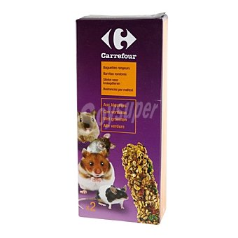 Carrefour Barritas roedores con verduras 1 ud