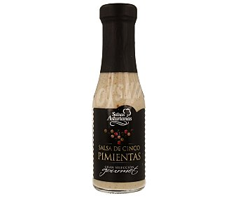 Salsas Asturianas Salsa de cinco pimientas Gourmet 287 g