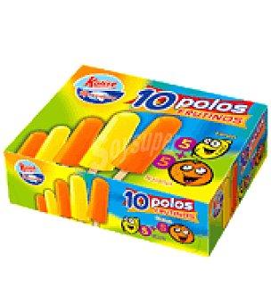 Menorquina Polo menorquina naranja Pack de 10 unidades