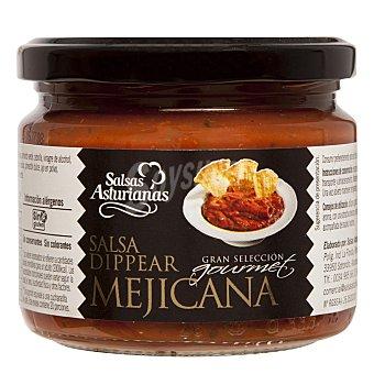 Salsas Asturianas Salsa Dippear mejicana gran selección gourmet Tarro 300 g