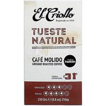 El criollo Café molido natural 250 g