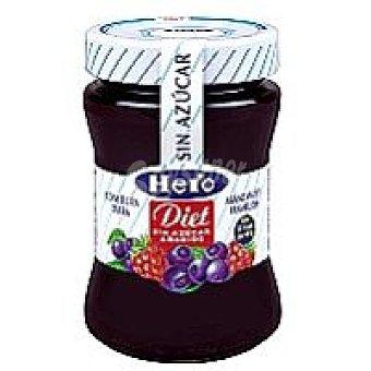 Hero Confitura de arándanos y frambuesa sin azúcar añadido Diet 280 g
