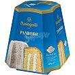 Paradiso pandoro relleno de suave crema y cubierto de azúcar 1894 Estuche 750 g Melegatti