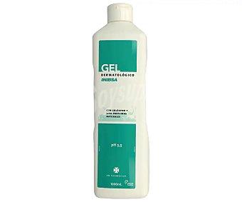 Inibsa Gel dermatológico de baño con pH 5.5 y lipo-proteínas y colágeno natural 1 l