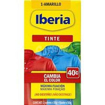 IBERIA Tinte ropa amarillo 1u