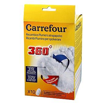 Carrefour Plumero atrapapolvo Caja con 10 un