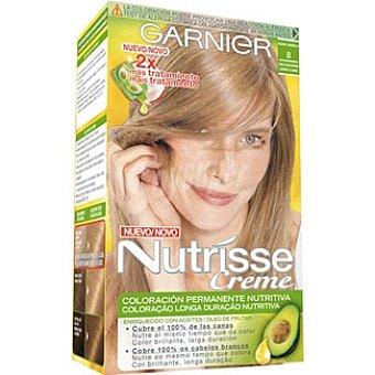 NUTRISSE CREMA Tinte rubio vainilla claro natural nº 8 caja 1 unidad