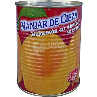 MANJAR DE CIEZA Melocotón en almibar en mitades Lata 470 g neto escurrido
