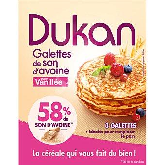 Dukan Regime tortitas de salvado de avena sabor vainilla 3 unidades Envase 210 g