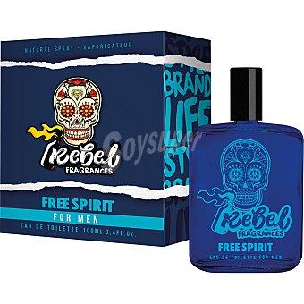 Rebel Colonia de hombre Free Spirit 100 ml