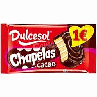 Dulcesol Chapelas de cacao 4 unid