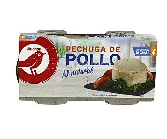 Producto Alcampo Pechuga de pollo al natural 2 uds x 42 g