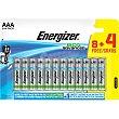 Eco Advanced pila alcalina AAA blister 8 unidades + 4 gratis Blister 8 unidades + 4 gratis Energizer