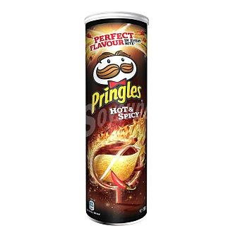 Pringles Patatas fritas Hot & Spicy Envase de 190 g