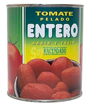 Hacendado Tomate natural entero pelado Bote 820 g escurrido