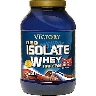 VICTORY Isolate Whey 100 cfm suplemento soluble sabor chocolate aislado de proteína de suero envase 900 g Envase 900 g