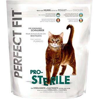 PERFECT FIT PRO-STERILE Para gatos esterilizados con pollo bolsa 750 g Bolsa 750 g