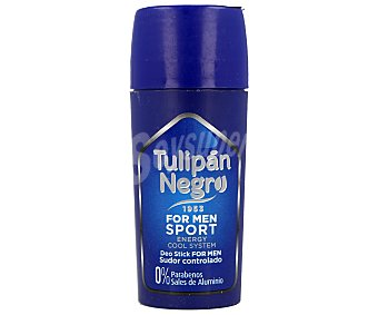 Tulipan Negro Desodorante for men intensity en stick Envase 75 ml