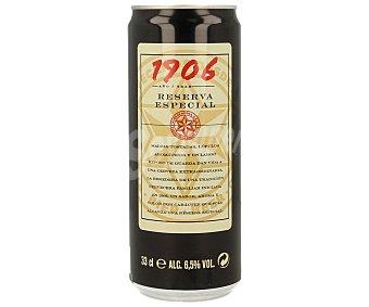 1906 Cerveza reserva Lata de 33 cl