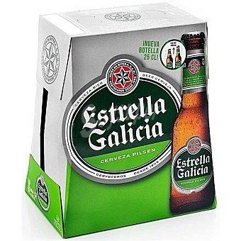 Estrella Galicia Cerveza pilsen Pack de 6x250 ml