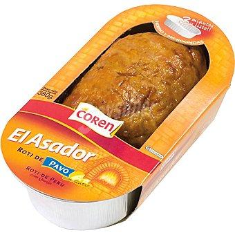 Coren Roti de pavo asado con queso Envase 380 g