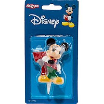 DEKORA Vela familia Disney Nº7 1 unidad
