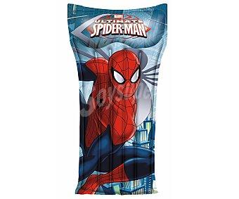 BESTWAY Colchoneta hinchable con dibujos de Spiderman, medidas de 119x61 centímetros y recomendada para niños de + 3 años 1 unidad