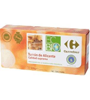 Carrefour Bio Turrón de Alicante 300 g.