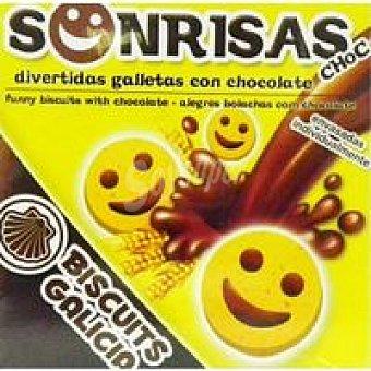 Biscuits Galicia Sonrisas de chocolate Caja 75 g