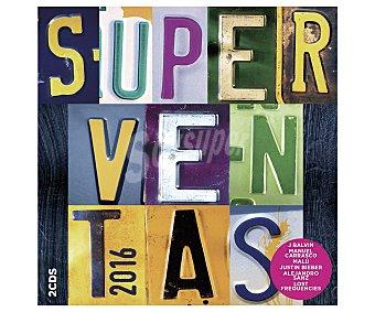 Recopilatorios Disco en doble Cd Superventas 2016, 2 Cd's. Género: recopilatorios. Lanzamiento: Febrero de 2016 2016