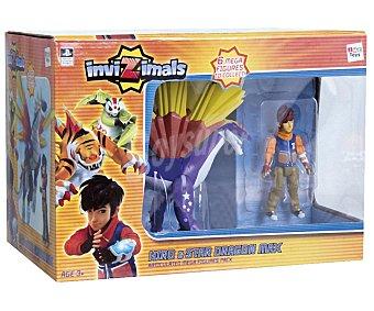 IMC Increíble Pack, Héroe + Dragón Invizimals 1 Unidad