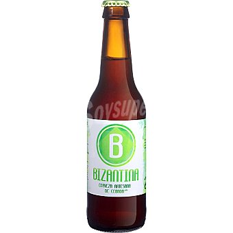 BIZANTINA Cerveza artesana de cebada Botella 33 cl