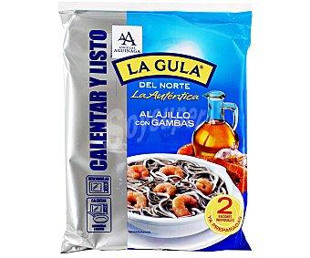 Angulas Aguinaga Gulas al ajillo con gambas  ya preparadas  2 raciones de 250 g