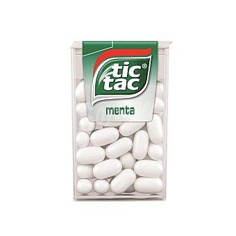 Tic tac Caramelos con sabor a menta Caja de 18 gramos