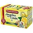 Infusión jengibre con limón 20u Pompadour