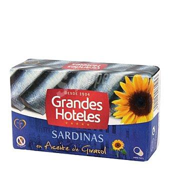 Grandes hoteles Sardinas en aceite de girasol 88 g